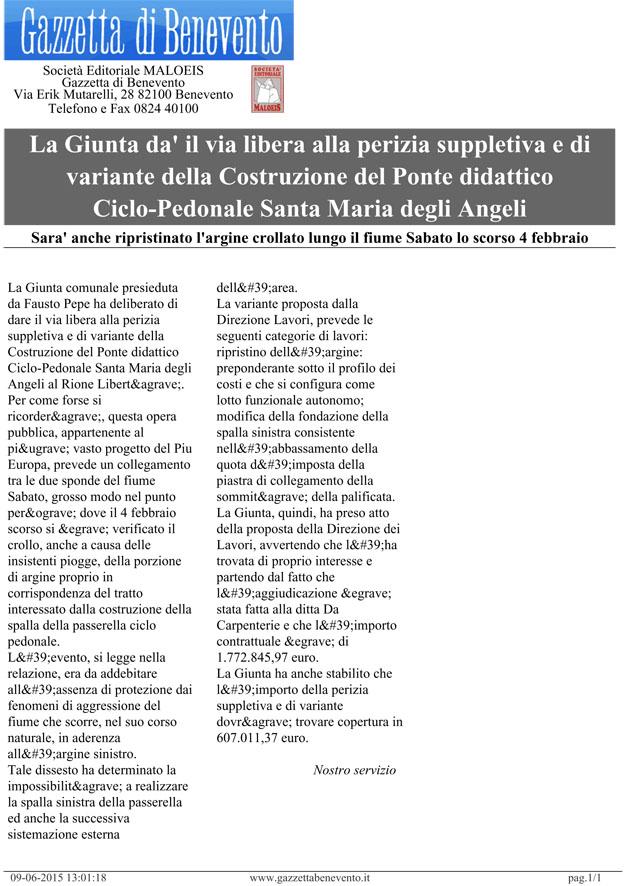 Gazzetta Di Benevento