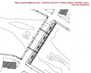 Riqualificazione del Ponte Santa Maria degli Angeli sul fiume Sabato