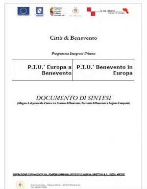 Documento di Sintesi PIU Europa