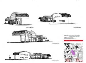 Stazione attrezzata autobus extraurbani-parcheggio di scambio Santa Colomba (Stadio)