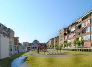 Spazi sociali al Rione Libertà, inaugurata la Spina Verde