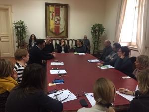 Si è riunito stamani a Palazzo Mosti il gruppo di lavoro del PIU Europa