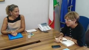 Piu Europa, il vicesindaco Mazzoni a colloquio con Angioli
