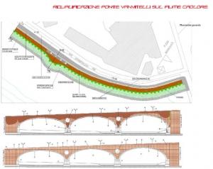 Riqualificazione del Ponte Vanvitelli sul fiume Calore