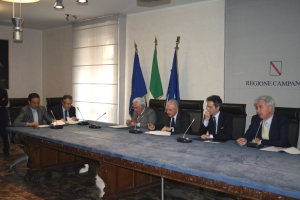 PIU Europa, firmato a Napoli il protocollo aggiuntivo con la Regione