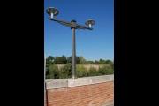 Via Grimoaldo Re, tornano i lampioni disegnati da Piccinato