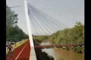 Ponte Didattico e rifacimento dell'argine Lungosabato Matarazzo, il 28 aprile la consegna dei lavori