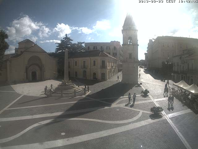 Webcam Benevento - Chiesa Santa Sofia