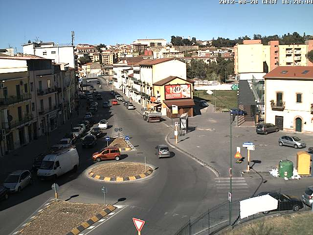 Webcam Benevento - Via Napoli